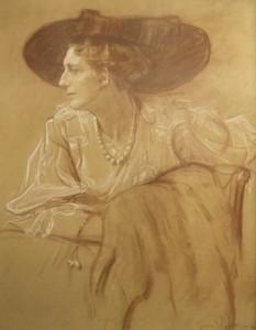 Julie Wolfthorn - Portrait von Frau Prof. Lilli Behrens