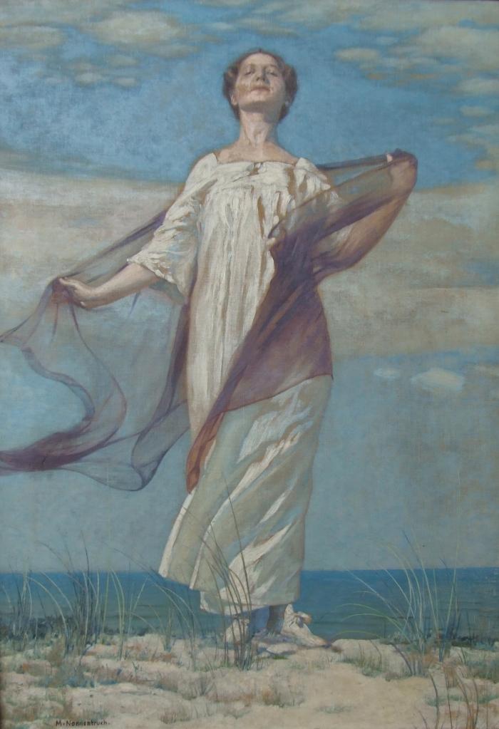 Max Nonnenbruch - Frau auf einer Düne