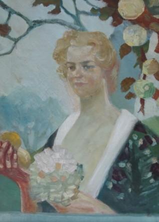 Julie Wolfthorn - Portrait Olga Hempel