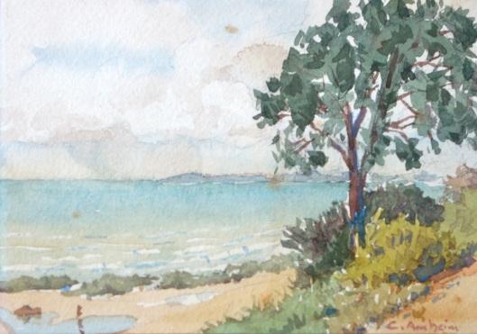 Küste vor Hiddensee