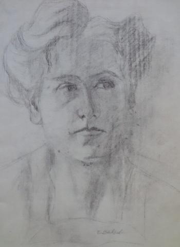 Selbstportrait um 1900