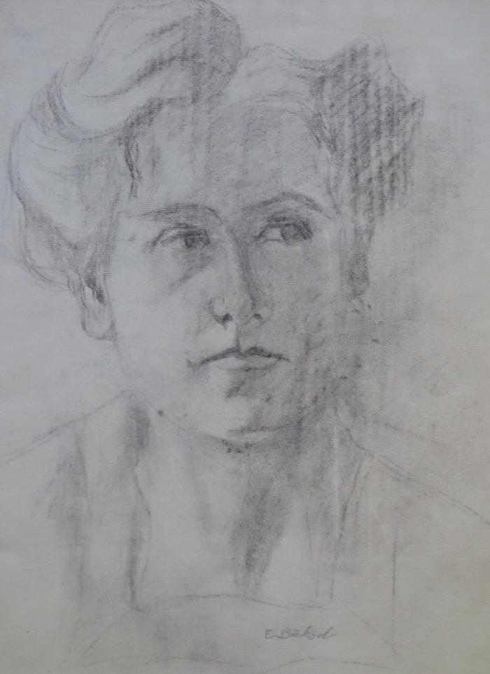 Elisabeth Büchsel - Selbstbildnis