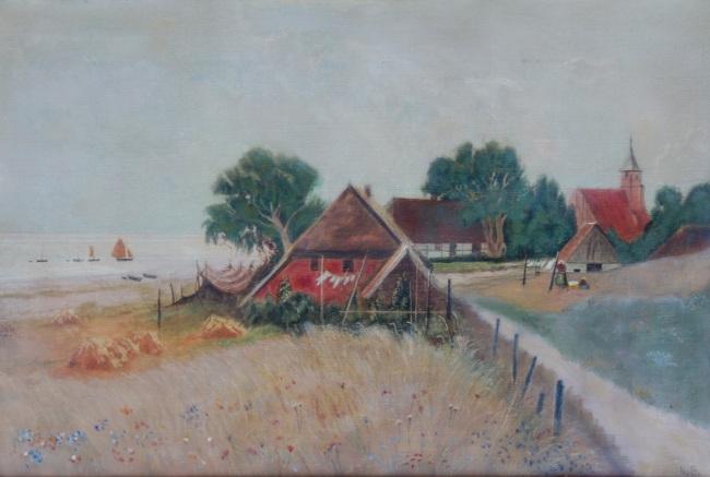 Dorf auf Rügen