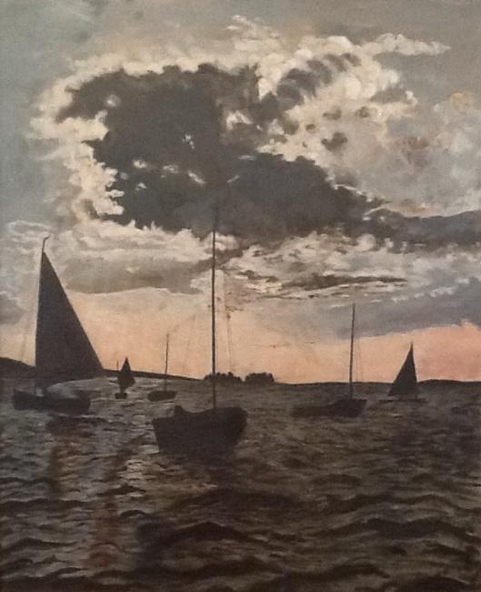 TomBeyer Boote auf Bodden