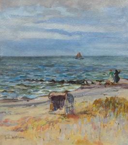 Julie Wolfthorn - Am Strand von Hiddesee