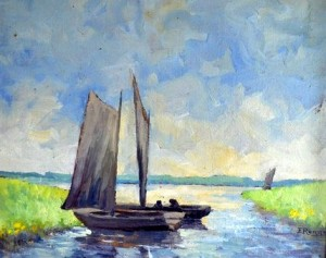 E Rogge Boote auf Wümme 1