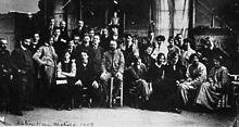 Matisse und seine Schülerinnen und Schüler im Atelier, 1909