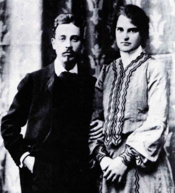 Clara und Rainer- das Ehepaar Rilke