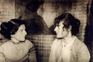 Die Freundinnen Paula Modersohn-Becker und Clara Rilke-Westhoff