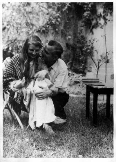 Marie Luise Vogeler und Gustav Regler Mexiko verm. 1943