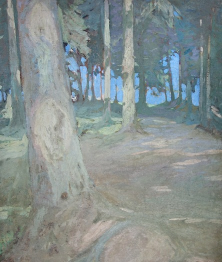Julie Wolfthorn - Waldlichtung im Dachauer Moos