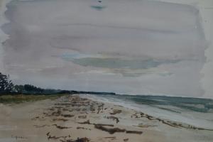 Clara Arnheim - Strand bei Vitte