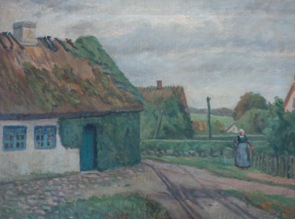 Henni Lehmann 1918 Strassen in Kloster