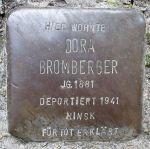 Stolperstein_HB_-_Dora_Bromberger_1881