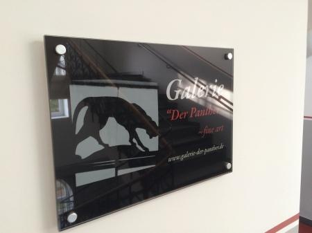 Galerie Panther Schild