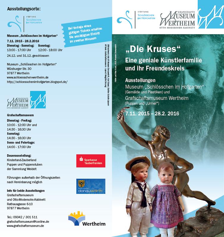 Oskar Kruse-Lietzenburg - Flyer Seite 1