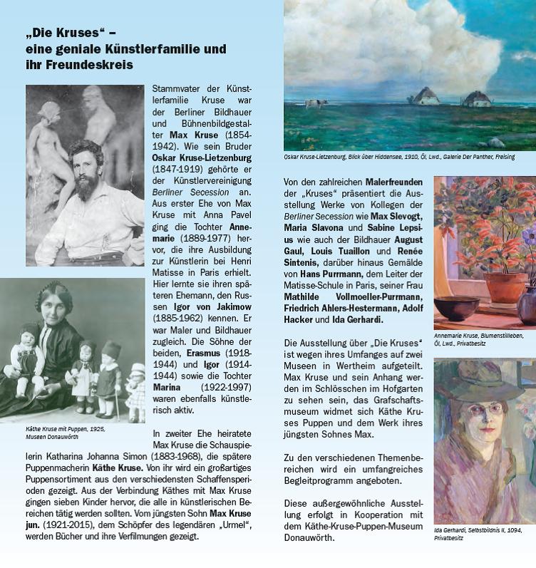 Oskar Kruse-Lietzenburg - Flyer Seite 2