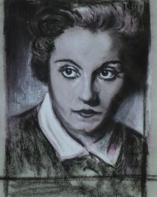 Julie Wolfthorn - Portrait Marlene Dietrich