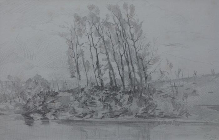 Elisabeth Büchsel - Am Dorfteich von Hiddensee