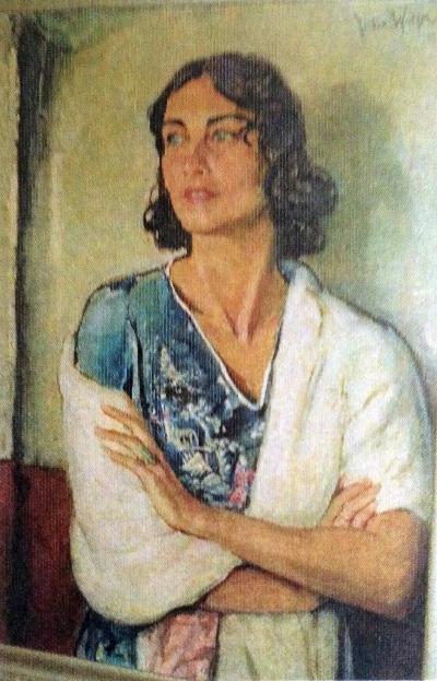 Julie Wolfthorn - Portrait der Bildhauerin Karla Friedel