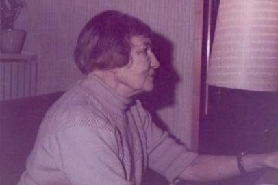 Die Bildhauerin Karla Friedel