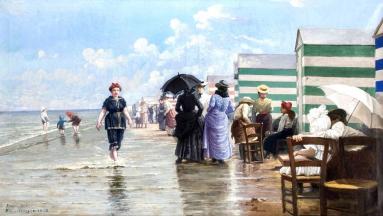 Ernest Laforce, Blankenberge 1898