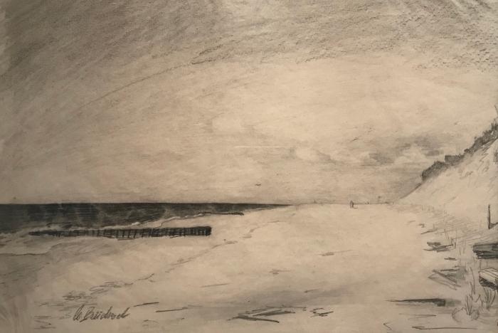 Elisabeth Büchsel - Am Strand von Kloster