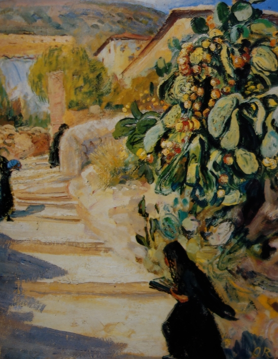 Ottilie Reylaender - Treppe in Palma