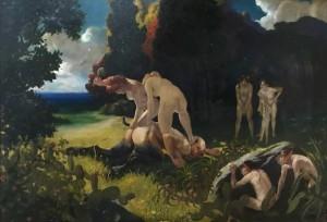 Max Pietschmann- Die Bestrafung des Faunus