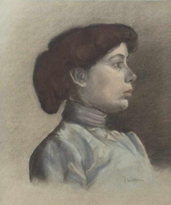 Julie Wolfthorn - Portrait Anna Muthesius